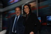 Foto IPP/Gioia Botteghi  Roma 13/01/2010Presentazione del nuovo tg5web, nella foto Il direttore del tg5   Clemente Mimun e Cristina Parodi