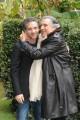 Foto IPP/Gioia Botteghi  Roma 15/01/2010 Presentazione della fiction LO SCANDALO DELLA BANCA ROMANA, raiuno, nella foto Lando Buzzanca e Giuseppe Fiorello