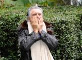 Foto IPP/Gioia Botteghi  Roma 15/01/2010 Presentazione della fiction LO SCANDALO DELLA BANCA ROMANA, raiuno, nella foto Lando Buzzanca