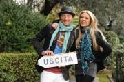 Foto IPP/Gioia Botteghi  Roma 18/01/2010 Presentazione della nuova trasmissione di raidue IL PIU GRANDE in onda da mercoledi 20, nella foto Martina Stella,  Francesco Facchinetti