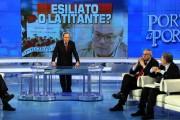 Foto IPP/Gioia Botteghi  Roma 18/01/2010Porta a Porta puntata su Craxi, da Vespa. nella foto : Bobo Craxi e Fabrizio Cicchitto