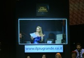 Foto IPP/Gioia Botteghi  Roma 20/01/2010 Prima puntata de IL PIU GRANDE, nella foto Alessandra Barzaghi