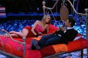 Foto IPP/Gioia Botteghi  Roma 20/01/2010 Prima puntata de IL PIU GRANDE, nella foto  Martina Stella con Fiorello