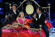 Foto IPP/Gioia Botteghi  Roma 20/01/2010 Prima puntata de IL PIU GRANDE, nella foto Francesco Facchinetti, Martina Stella con Fiorello