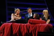 Foto IPP/Gioia Botteghi  Roma 22/01/2010 prima puntata di Sciock de la7 con Luca Barbareschi , nella foto: sul letto con le tre trans
