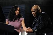 Foto IPP/Gioia Botteghi  Roma 22/01/2010 prima puntata di Sciock de la7 con Luca Barbareschi , nella foto: Mike Tyson con la moglie