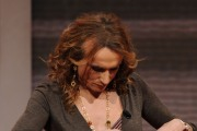Foto IPP/Gioia Botteghi  Roma 25/01/2010 puntata di oggi de IL FATTO di Monica Setta, ospite: Vladimir Luxuria e la sua stempiatura incipiente