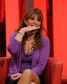 Foto IPP/Gioia Botteghi  Roma 25/01/2010 puntata di oggi de IL FATTO di Monica Setta, ospite: Alessandra Mussolini