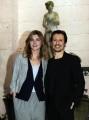Foto IPP/Gioia Botteghi  Roma 26/01/2010 Presentazione del film BACIAMI ANCORA, nella foto: Stefano Accorsi e Vittoria Puccini