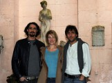 Foto IPP/Gioia Botteghi  Roma 26/01/2010 Presentazione del film BACIAMI ANCORA, nella foto: Valeria Bruni Tedeschi, Marco Cocci e Adriano Giannini