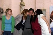 Foto IPP/Gioia Botteghi  Roma 26/01/2010 Presentazione del film BACIAMI ANCORA, nella foto: Valeria Bruni Tedeschi,  Vittoria Puccini, Sabrina Impacciatore, Daniela Piazza, baciano Muccino