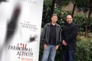 Foto IPP/Gioia Botteghi  Roma 29/01/2010 Presentazione del film Paranormal_ activity, nella foto il produttore Steven Schneider ed il regista Oren Peli