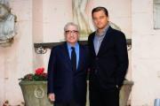 Gioia Botteghi  Roma 8/02/2010 presentazione del film Shutter Island, nella foto Leonardo Di Caprio con Martin Scorzese