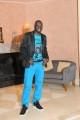 Foto IPP/Gioia Botteghi  Roma 10/02/2010 presentazione  della terza serie tv CAPRI, nella foto Thierno Thiam