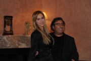 Foto IPP/Gioia Botteghi  Roma 10/02/2010 presentazione  della terza serie tv CAPRI, nella foto Lucio Caizzi con la fidanzata
