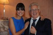 Foto IPP/Gioia Botteghi  Roma 10/02/2010 presentazione  della terza serie tv CAPRI, nella foto Peppino Di Capri con Bianca Guaccero