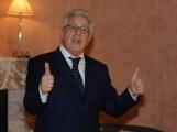 Foto IPP/Gioia Botteghi  Roma 10/02/2010 presentazione  della terza serie tv CAPRI, nella foto Peppino Di Capri