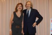 Foto IPP/Gioia Botteghi  Roma 11/02/2010 presentazione  delfilm SCUSA MA TI VOGLIO SPOSARE, nella foto: Mariano Rigillo e Cicci Rossini