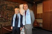 Foto/IPP/Gioia Botteghi Roma 14/12/2010 conferenza stampa di presentazione del Telethon in rai, nella foto Montezemolo e Garimberti presidente rai