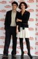 Foto IPP/Gioia Botteghi  Roma 01/03/2010 conferenza stampa di presentazione del film Mine Vaganti regia di Ferzan Ozpetek, nella foto  Riccardo Scamarcio e Nicole Grimaudo