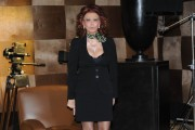 Foto IPP/Gioia Botteghi  Roma 10/03/2010 conferenza stampa di presentazione del film LA MIA CASA E PIENA DI SPECCHI per raiuno due puntate , nella foto Sophia Loren