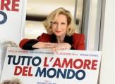 Foto IPP/Gioia Botteghi  Roma 15/03/2010 presentazione del film TUTTO L'AMORE DEL MONDO, nella foto: Monica Scattini