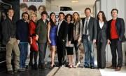 Foto IPP/Gioia Botteghi  Roma 15/03/2010 presentazione del film TUTTO L'AMORE DEL MONDO, nella foto: Il cast al completo