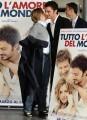 Foto IPP/Gioia Botteghi  Roma 15/03/2010 presentazione del film TUTTO L'AMORE DEL MONDO, nella foto: il ministro Giorgia Meloni, Nicolas Vaporitis