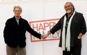 Foto IPP/Gioia Botteghi  Roma 17/03/2010 presentazione del film di Gabriele Salvatores, HAPPY FAMILY, nella foto Diego Abatantuono e Fabrizio Bentivoglio