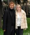 foto:IPP/Gioia Botteghi Roma 19/03/2010 presentazione della serie tv di canale 5_ FRATELLI BENVENUTI, nella foto: Massimo Ciavarro e Loredana De Nardis