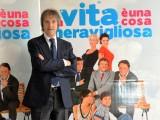 foto:IPP/Gioia Botteghi Roma 26/03/2010 Presentazione del film LA VITA E' UNA COSA MERAVIGLIOSA, nella foto: Carlo Vanzina