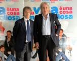foto:IPP/Gioia Botteghi Roma 26/03/2010 Presentazione del film LA VITA E' UNA COSA MERAVIGLIOSA, nella foto:  Fratelli Vanzina,