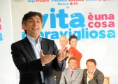 foto:IPP/Gioia Botteghi Roma 26/03/2010 Presentazione del film LA VITA E' UNA COSA MERAVIGLIOSA, nella foto:  Vincenzo Salemme