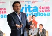 foto:IPP/Gioia Botteghi Roma 26/03/2010 Presentazione del film LA VITA E' UNA COSA MERAVIGLIOSA, nella foto: Enrico Brignano
