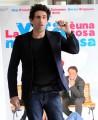 foto:IPP/Gioia Botteghi Roma 26/03/2010 Presentazione del film LA VITA E' UNA COSA MERAVIGLIOSA, nella foto: Luigi Cassandra