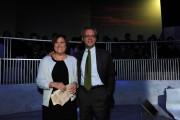 foto:IPP/Gioia Botteghi Roma 01/04/2010 puntata di Annozero con Lucia Annunziata con Enrico Mentana