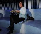 foto:IPP/Gioia Botteghi Roma 01/04/2010 puntata di Annozero con Lucia Annunziata