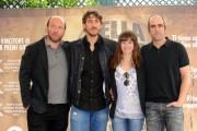 foto:IPP/Gioia Botteghi Roma 13/04/2010 Presentazione del film Cella 211, nella foto lo sceneggiatore Jorge Guerrcaechevarria, Luis Tosar, Marta Eturia, Alberto Ammann