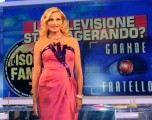 foto:IPP/Gioia Botteghi Roma 13/04/2010 Puntata di porta a porta sull'isola dei famosi, nella foto Simona Ventura