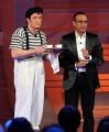 foto:IPP/Gioia Botteghi Roma 26/04/2010 prima puntata della trasmissione Aria Fresca, nella foto: Carlo Conti con Graziano Salvadori