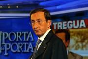 Photo:INSIDE/GBRoma 28/04/2010 Puntata di porta a porta con Gianfranco Fini