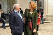 foto:IPP/Gioia Botteghi Roma 19/04/2010 Festival delle letterature Lucrezia Lante della Rovere e Raffele La Capria
