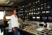 foto:IPP/Gioia Botteghi Roma 21/05/2010 Nuovi studi del tg3 a partire dal 24/5/2010, nella foto Bianca Berlinguer Direttore in regia