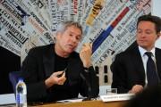 foto:IPP/Gioia Botteghi Roma 21/05/2010 Claudio Baglioni e Andrea Ceccherini presentano il progetto UN SOLO MONDO con la fondazione O'SCIA'