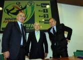 foto:IPP/Gioia Botteghi Roma 25/05/2010 Presentazione rai dei programmi dei mondiali di calcio, nella foto: Garimberti Presidente rai Petrucci e Giancarlo Abete