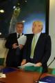 foto:IPP/Gioia Botteghi Roma 25/05/2010 Presentazione rai dei programmi dei mondiali di calcio, nella foto: Garimberti Presidente rai e il direttore di raisport Eugenio De Paoli