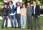 Foto/IPP/Gioia Botteghi Roma 26/05/2010 presentazione del film Sono viva, nella foto il cast con i due registi Dino e Filippo Gentili