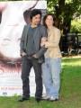 Foto/IPP/Gioia Botteghi Roma 26/05/2010 presentazione del film Sono viva, nella foto Massimo De Santis e Giovanna Mezzogiorno