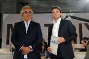 Foto/IPP/Gioia Botteghi Roma 28/05/2010 Matrix ospite Flavio Briatore con Alessio Vinci