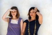foto:IPP/Gioia Botteghi Roma 4/06/2010 presentazione del film IL PADRE DEI MIEI FIGLI, nella foto la regista MIA HANSEN - LØVE e Chiara Caselli